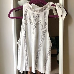 NWT FREE PEOPLE halter top